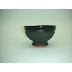 taza barro negra